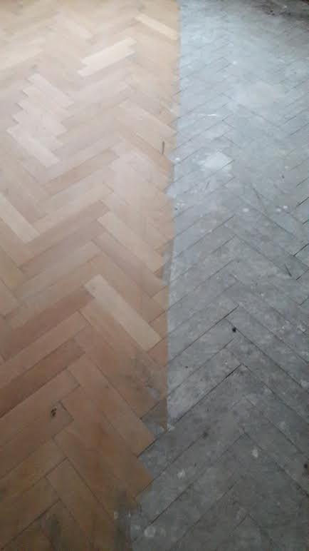 Sanding process   Living Floors   Wood floor specialists   Chester