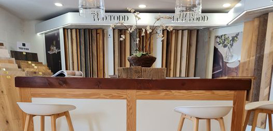 Living Floors - Ted Todd table - Chester, Cheshire